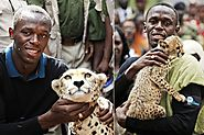 "He has adopted and named a cheetah ""Lightning bolt""."