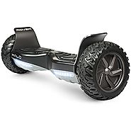 Official Halo Rover Hoverboard - Safety Certified UL 2272 - Halo Bluetooth Speakers - Halo Rover Mobile APP - Free Ca...