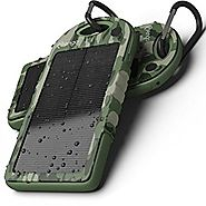 Solar Assist Charger, Mengo S-Power Shockproof/Water-Resistant 5300Mah [ Solar Assist Back-up Battery ] Charger Power...