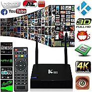 Greatever 2016 Newest KIII Amlogic S905 Android 5.1 TV Box Quad-Core 2G/16G K3 PC 2.4/5G Dual WiFi XBMC UHD 4K 3D Kod...
