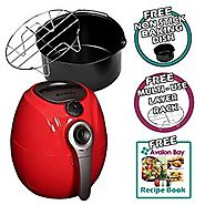 Avalon Bay AB-Airfryer100R Airfryer in Red