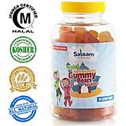 Salaam Nutritionals Halal Gummy Omega3+DHA, Supports Optimal Brain and Immune Function, Vegan *BEST Tasting*