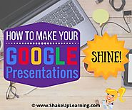 How to Make Your Google Presentations Shine | Shake Up Learning