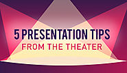All the World's a Stage, Including Your Presentation: 5 Tips from the Theater