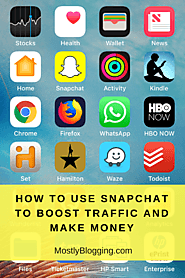 How to Make Money with Snapchat Online or with the App