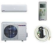Pioneer Ductless Wall Mount Mini Split INVERTER Air Conditioner with Heat Pump, 12000 BTU (1 Ton), 15 SEER, 208~230 V...