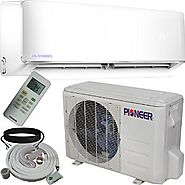 Pioneer Air Conditioner WYS009AMFI17RL Ductless Inverter+ Mini-Split Heat Pump Complete System