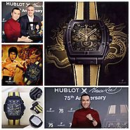 Hublot Spirit of Big Bang Pour Bruce Lee 75e anniversaire 601.CI.1138.VR.BLF15