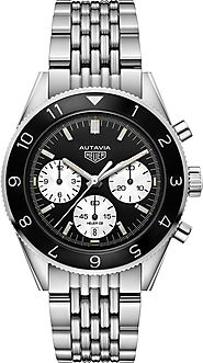 Replique TAG Heuer Heritage Autavia Calibre Heuer 02 Automatique Chronographe 42 mm