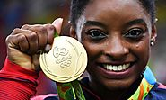 Simone Biles Records 5 Medals