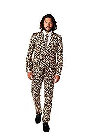 OppoSuits Men's The Jag Party Costume Suit