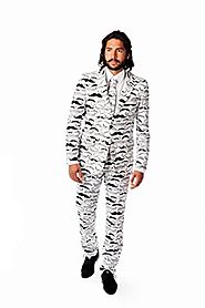 OppoSuits Men's Tashtastic Party Costume Suit