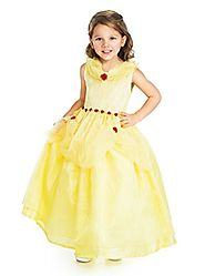 Little Adventures Yellow Beauty Princess Dress Up Costume for Girls