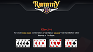 How to play Rummy - gamentio
