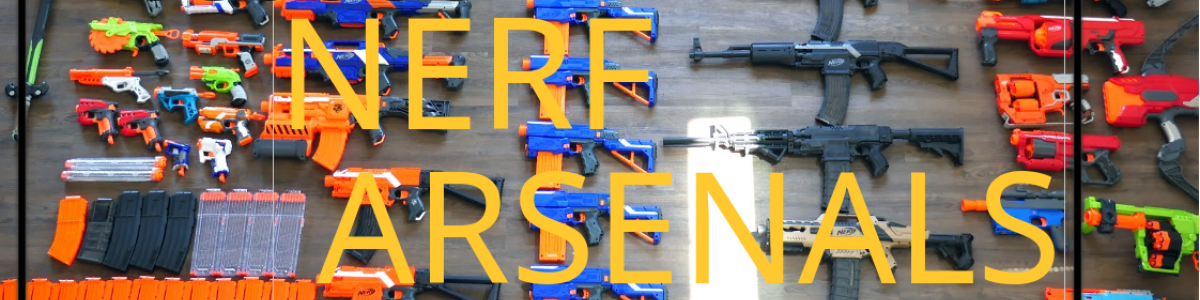 Headline for Nerf Gun Arsenals - Famous Youtubers Share Amazing Collections