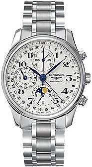 Replique Longines Master Moon Phase Chronographe Homme Montre L2.673.4.78.6