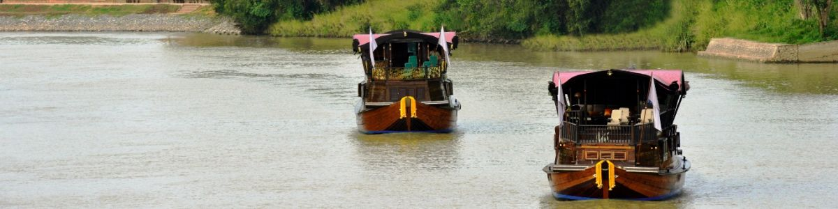 Headline for Things to See on a Three Day River Cruise along the Chao Phraya River - a Plunge into the Past