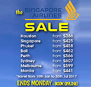 The Singapore Airlines Sale....