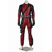 CosplayDiy Men's Costume Suit for Deluxe Deadpool Wade Wilson Cosplay