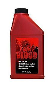 Fake Blood - Huge 16oz Pint Bottle Of Stage Blood - Matches The Real Color Of Blood