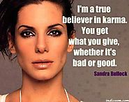 Quote from Sandra Bullock