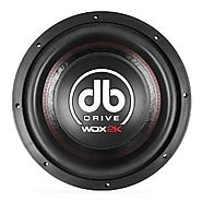 "Most Exspensive Car Subwoofer for Competitions - DB Drive WDX12 2K WDX Series Competition Subwoofer (12"")"