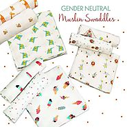 Shop These Cotton Muslin Swaddles Online at Little West Street
