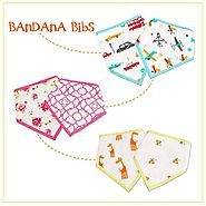 Shop Bandana Baby Bibs Online at Little West Street
