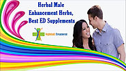 Herbal Male Enhancement Herbs, Best ED Supplements