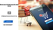 E-commerce website development malaysia