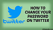 How to Change and Reset Lost Twitter Password