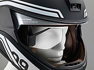 BMW presents futuristic helmet at CES 2016 - Helmet Domain