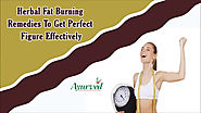Herbal Fat Burning Remedies To Get Perfect Figure Effectively