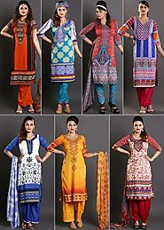 Zoha - Pack Of 7 Stunning Printed Suit Materials