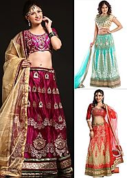 Designer Gorgeous Lehenga By Chabraa 555 (Pick Any 1)