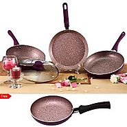 Royal Velvet 4 Pc Induction Cookware Set By Wonderchef