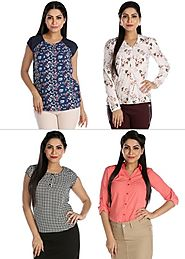 Classic Diva - Pack of 4 Tops By Lady Hudson