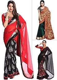 Contemporary Stylish Sarees By Alveera - Pick Any 1