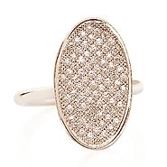 Parisian pave ring diamonds vs1-2 defg - The Jewellery Hub online store for women's fashion jewellery