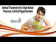 Herbal Treatment For High Blood Pressure, Control Hypertension