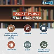 UGC NET Syllabus for Net Exam December 2016 | Updated