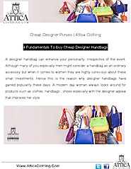 Buy Cheap Designer Handbags