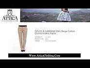 Exclusive Women's Designer Pants