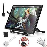 "Ugee 19"" Graphics Drawing Pen Display Monitor with 2 Original Rechargeable Pens, 2 USB Cables and Mini Displayport DP..."