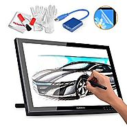 Huion GT-190 19 Inches Drawing Pen Display Graphics Tablets Monitor with USB 3.0 to VGA Adapter, Screen Protector and...