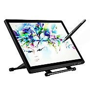 Ugee 2150 21.5 Inch IPS Drawing Monitor with HD Resolution, 2 Original Pen, 1pc Drawing Glove and Screen Protector