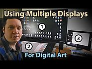 How To Use Multiple Displays for Digital Art