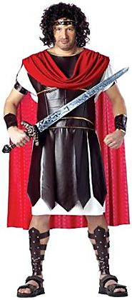 California Costumes Men's Plus Size-Hercules Costume