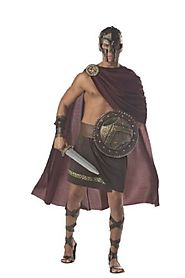 California Costumes Men's Spartan Warrior Costume