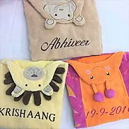 Shop Animal Baby Towels Online at Little West Street